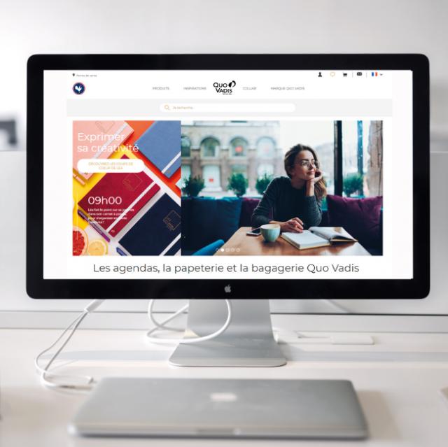 Boutique en ligne Quo Vadis e-shop papeterie agendas 2021